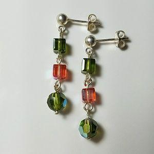 T NELSON• 🦄Swarovski Crystal Earrings
